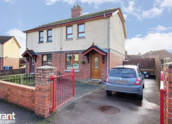 Thumbnail 2 bedroom semi-detached house for sale in Abbot Walk, Newtownards
