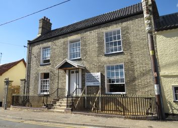 Thumbnail 4 bed town house for sale in Dereham Road, Watton, Thetford