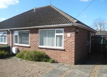 Thumbnail 2 bedroom semi-detached bungalow for sale in Cannerby Lane, Sprowston, Norwich