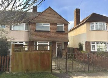 Thumbnail 3 bed semi-detached house for sale in Clayton Road, Chessington, Surrey