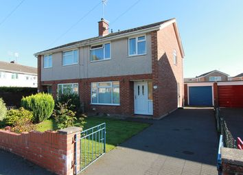 Thumbnail 3 bed semi-detached house for sale in Priory Gardens, Usk