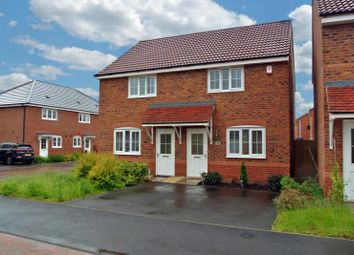 Thumbnail 2 bedroom semi-detached house for sale in Keel Close, Wigston