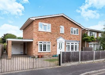 Thumbnail 4 bedroom detached house for sale in Pamber Heath, Tadley, Hampshire