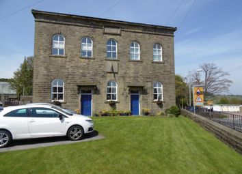 Thumbnail 2 bed flat to rent in Curtis Court, Church Street, Cullingworth, Bradford