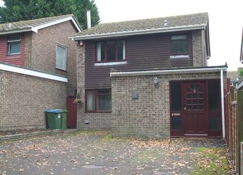 Thumbnail 3 bed detached house to rent in Ranvilles Lane, Fareham