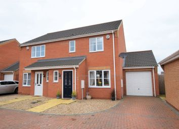 Thumbnail 3 bed semi-detached house for sale in Jubilee Close, Cherry Willingham, Lincoln