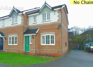 Thumbnail 2 bed semi-detached house for sale in Wellingley Road, Balby, Doncaster.