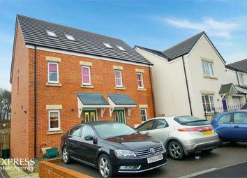 Thumbnail 3 bed semi-detached house for sale in Cilgant Y Lein, Pyle, Bridgend, Mid Glamorgan