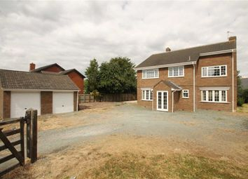 Thumbnail 4 bed detached house for sale in Meadow View, Llandrinio, Llanymynech