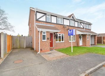 Thumbnail 3 bed semi-detached house to rent in Domont Close, Shepshed, Loughborough