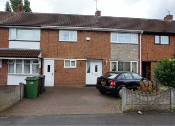 Thumbnail 3 bedroom terraced house for sale in Moathouse Lane East, Wolverhampton