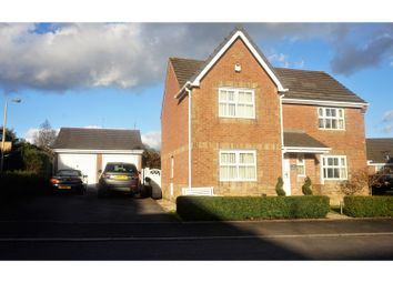 Thumbnail 4 bed detached house for sale in Birch Wood Drive, Tonyrefail Near Porth