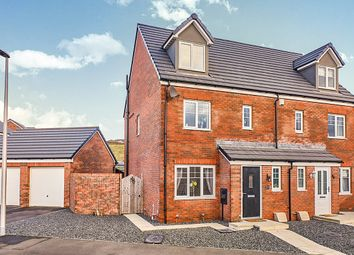 Thumbnail 4 bed semi-detached house for sale in Bellaport Gardens, Harrington, Workington