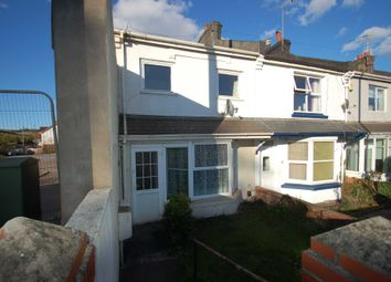 Thumbnail 3 bed end terrace house to rent in Totnes Road, Paignton