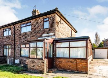 Thumbnail 3 bed semi-detached house for sale in Richmond Avenue, Warrington, Cheshire
