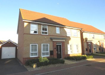 Thumbnail 4 bed detached house for sale in Mid Water Crescent, Hampton Vale, Peterborough
