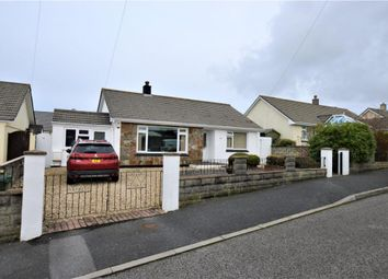 Thumbnail 4 bed detached bungalow for sale in Trelawney Avenue, Treskerby, Redruth