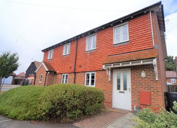 Thumbnail 2 bed semi-detached house for sale in Station Road, Southfleet, Gravesend