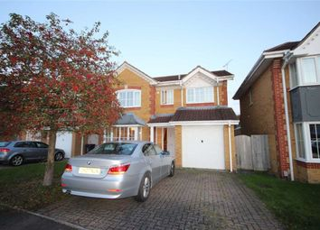 Thumbnail 4 bed detached house for sale in Clayhill Copse, Peatmoor, Swindon