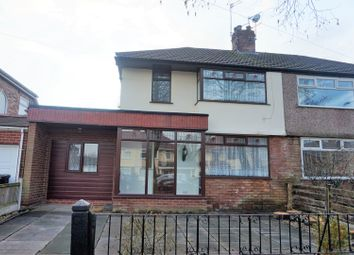 Thumbnail 3 bed semi-detached house for sale in Bowring Park Avenue, Liverpool