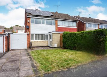 Thumbnail 3 bed semi-detached house for sale in Sharon Way, Hednesford, Cannock
