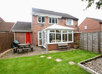Thumbnail 3 bed semi-detached house for sale in Mallard Close, Dorcan, Swindon