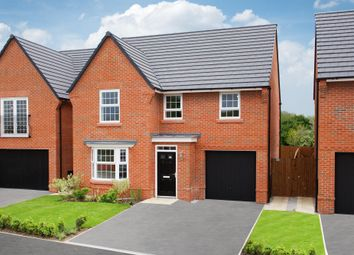 "Thumbnail 4 bed detached house for sale in ""Millford"" at Millgarth Court, School Lane, Collingham, Wetherby"