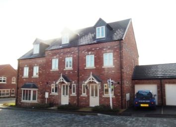 Thumbnail 3 bed town house to rent in Levertons Place, Hucknall, Nottingham