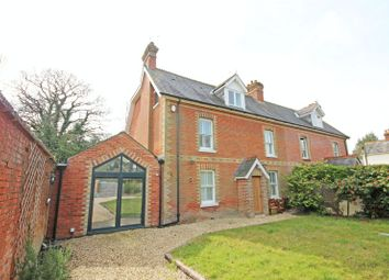 Thumbnail 4 bed semi-detached house to rent in Ober Road, Brockenhurst