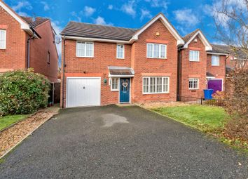 Thumbnail 4 bed detached house for sale in Chenet Way, Cannock