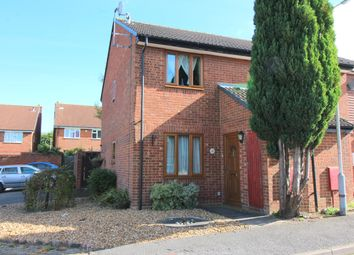 Thumbnail 2 bed end terrace house for sale in Heron Drive, Luton