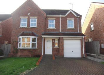 Thumbnail 4 bed detached house to rent in Maple Close, South Milford, Leeds