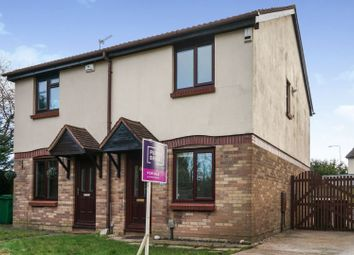 Thumbnail 2 bedroom semi-detached house for sale in Hornbeam Close, St. Mellons
