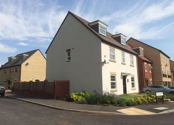 Thumbnail 4 bed detached house to rent in Regal Close, Corby