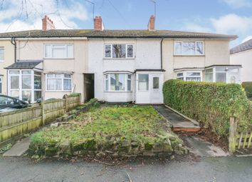 Thumbnail 3 bed terraced house for sale in Cleeve Road, Yardley Wood, Birmingham