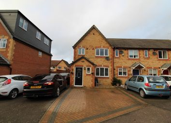 Thumbnail 3 bed end terrace house for sale in Thyme Close, Newport Pagnell, Buckinghamshire