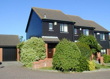Thumbnail 2 bed end terrace house to rent in Windmill Field, Windlesham, Surrey