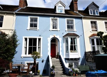 Thumbnail 4 bed terraced house for sale in Belvedere Drive, Newbury