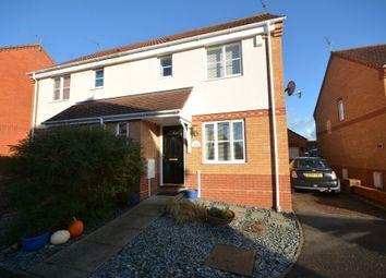 Thumbnail 3 bedroom semi-detached house for sale in Guscott Close, Lowestoft