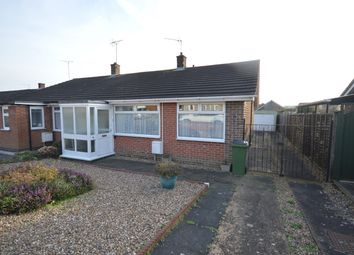 Thumbnail 2 bed semi-detached bungalow for sale in Greenfields, Whetstone, Leicester