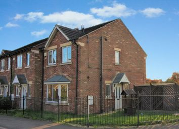 Thumbnail 3 bed end terrace house for sale in Burleigh Court, Tuxford, Newark