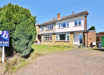 Thumbnail 3 bed semi-detached house for sale in Marks Avenue, Ongar, Essex