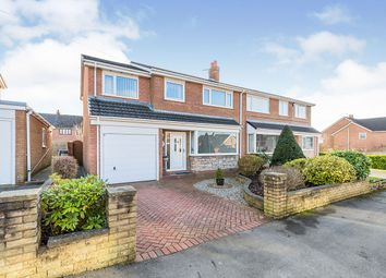 Thumbnail 4 bed semi-detached house for sale in Bristol Avenue, Farington, Leyland, Lancashire