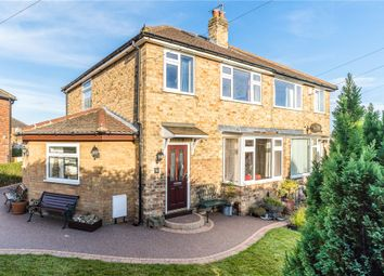 Thumbnail 4 bed semi-detached house for sale in Wedderburn Avenue, Harrogate, North Yorkshire