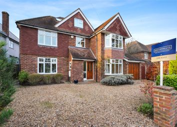 Thumbnail 5 bed detached house for sale in Daneswood Close, Weybridge, Surrey