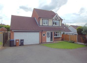 Thumbnail 3 bed detached house for sale in Woodland Close, Markfield, Leicester, Leicestershire