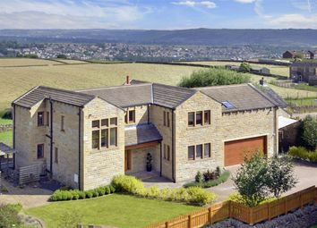 Thumbnail 5 bedroom detached house for sale in Stainland Road, Stainland, Halifax, West Yorkshire