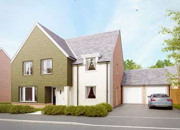 "Thumbnail 4 bed detached house for sale in ""The Downton"" at Amesbury Road, Longhedge, Salisbury"