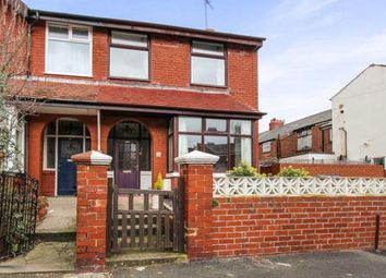 Thumbnail 3 bedroom end terrace house for sale in Westwood Avenue, Blackpool, Lancashire, England