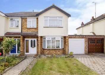 Thumbnail 3 bed semi-detached house for sale in Meadows Close, Ingrave, Brentwood